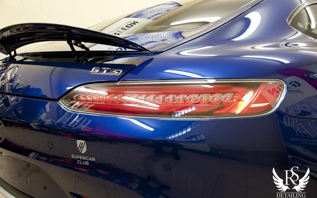 Mercedes-Benz GT AMG – ceramiczne zabezpieczenie
